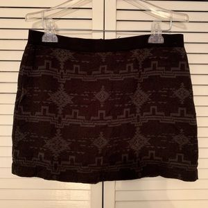 American Eagle Outfitters Print Skirt
